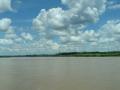 15. Řeka Huallaga nedaleko města Lagunas směrem na Yurimaguas, Loreto, Peru (AR).