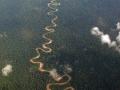 1. Meandrový pás; řeka Tamaya, Ucayali, Peru (JL).