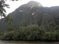 5. Horský les; Bella Durmiente (hlava Šípkové Růženky), Tingo María, Huanuco, Peru (AR).
