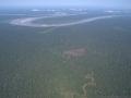 3. Odlesňování a fragmentace lesa, Ucayali, Peru (LH).