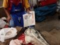 3. Krokodýlí hlavy na trhu Bellavista ve městě Pucallpa, Ucayali, Peru (LB).