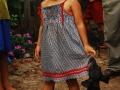 Venkovská holčička, blízko města Neshuya, region Ucayali, červenec 2010